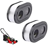 Malbaba Lawn Mower Air Filter|Replace for 593260|Compatible with Briggs and Stratton 798452|Compatible with Troy Bilt TB110|Premium Lawn Mower Air Cleaner|2 Pack