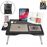 Cooper Mega Table [Support Pliant XXL pour Ordinateur Portable Lit &...