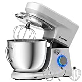 COSTWAY Stand Mixer, 6-Speed 7.5 QT Tilt-head Electric Kitchen Food Mixer 660W with Stainless Steel...