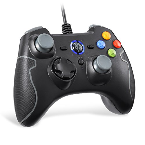 【ゲームコントローラー】EasySMX 有線PS3コントローラー 連射・振動機能搭載 USBゲームパッド Windows/And...