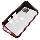 【YMXPY】 iPhone11 Pro ケース マグネット止め アルミバンパー 取り付けやすい 磁石止め 完全……