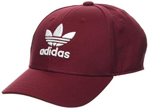 adidas Trefoil B, Cappellino da Baseball Unisex Adulto, Rosso (Collegiate Burgundy/White), One Size
