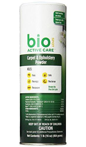 BioSpot Active Care Carpet Powder 16 oz [2-Pack]