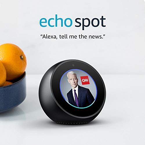 Product Image 7: Echo Spot - Smart Alarm Clock with Alexa - Black