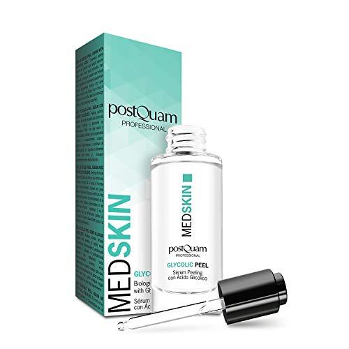 Postquam - Med Skin | Peeling Facial con ácido glicólico - Elimina puntos negros y...