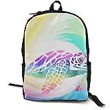 School Mochila Boockbag Fashion College Daypack para mujeres y hombres Tie Dye perfección