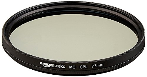 Amazonベーシック 円偏光フィルター 77mm  CF02-NMC16-77