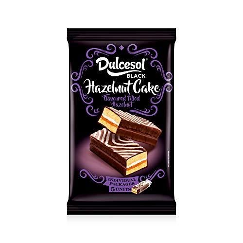 Dulcesol Hazelnut cake - 5 pack unidades, 225 gr