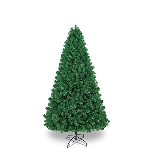 SHareconn Árbol de Navidad Verde Artificial de Pino,Árbol Artificial con 1178 Puntas, Soporte Metálico, PVC Verde Arbol Navidad Artificial Abeto Navidad, 6.5ft