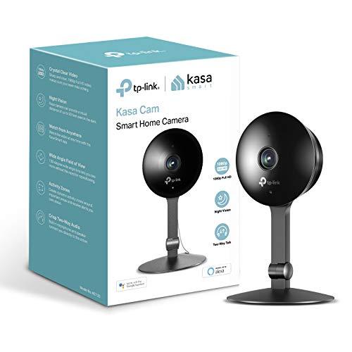 Kasa Cam by TP-Link – Telecamera WiFi per casa, telecamera interna, funziona con Alexa e Google (KC120)