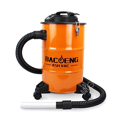 BACOENG Aspiracenere con Sistema di filtraggio a due fasi, 20L, 1200W