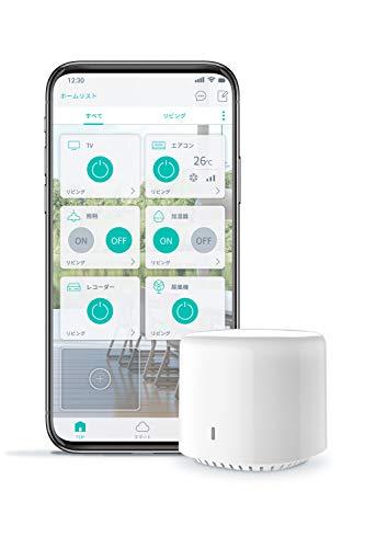【Amazon Alexa認定】シンプルスマートリモコン EZCON (日本発ブランド・今ある家電をスマホで操作 Alexa...
