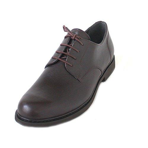 Camper Neuman, Zapatos de Cordones Derby para Hombre, Marrón (Dark Brown 200), 44 EU