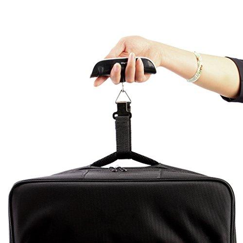 Satisfr Pèse Bagage Electronique/Balance Portable Pèse Numérique Max 50Kg/110Lb, Voyage/Shopping/Usage Domestique/Extérieur