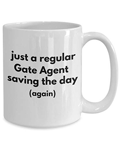 Gift for Gate Agent, Gate Agent Coffee Mug, Gate Agent Gift...