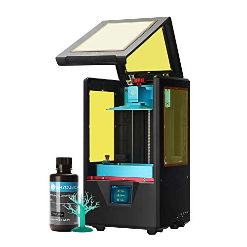 ANYCUBIC PHOTON 3d プリンター 光造形式 金属製 デスクトップ 2K 高精度 UV-LED LCD masking 操作簡単