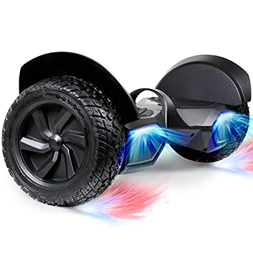 SISIGAD Off-Road Hoverboard, 8.5 Inch Hoverboard, Two-Wheel Self Balancing Hoverboard Electric...