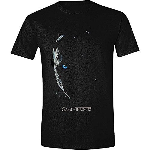 Juego de Tronos Season 7 Poster - Nachtkönig Camiseta Negro L