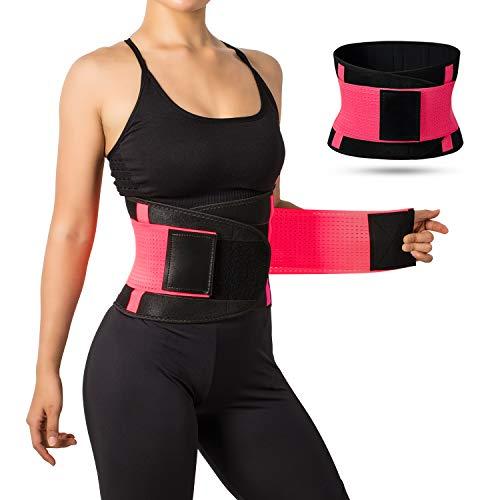 Jueachy Waist Trainer for Women Breathable Waist...