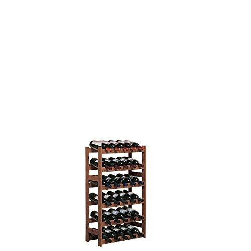 Cantinetta/scaffale System 'Simplex', in legno di pino, colore marrone, Modell 2, marrone