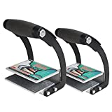 FivePears Plywood and Sheetrock Panel Carrier, Heavy Duty Metal Gripper,Sheetrock Carry Handle for Carpenter (2 Pack)