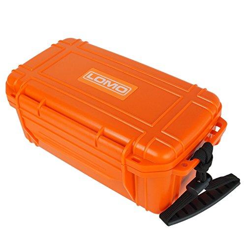 Lomo Dry Box 20 Maxi Größe - Orange. Segeln Trockenbox