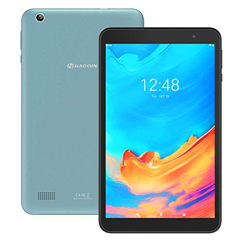 HAOQIN H8 Android Tablet 8 Inch 2GB RAM  Android 9.0 Quad Core Processor 16GB Storage Tablet PC with WiFi Bluetooth Dual Camera Google Certified (Blue)