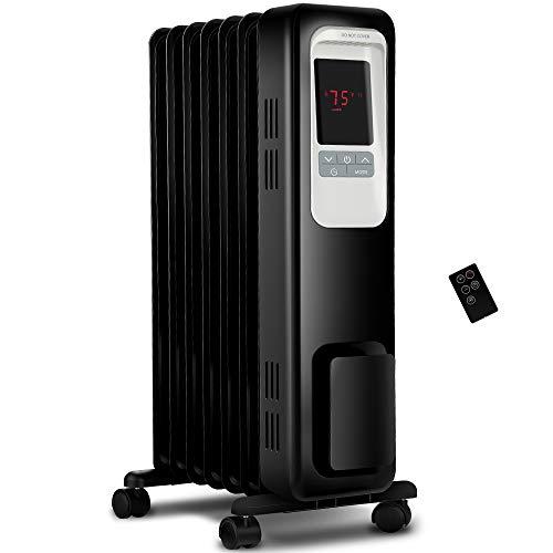 Aiko Per Space Heater, 1500W OIL Filled Radiator Heater