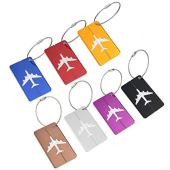 NUOLUX Travel Luggage Tags Suitcase Luggage Bag Tags Pack of 7