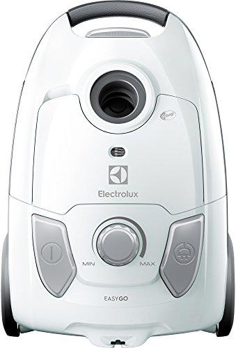 Electrolux EEG41IW Aspirapolvere con Sacco Easygo, Hygiene Filter 12, Versione Base, 600 W, 3.5...