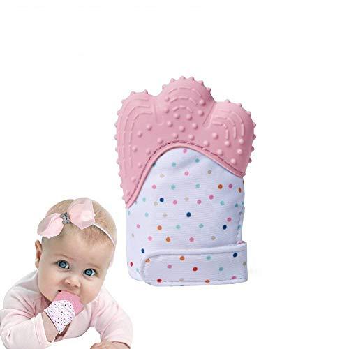 Dentizione Molare Guanto Silicone Dentista Bambino calmante Pain Relief di et 3-12 mesi bambino...