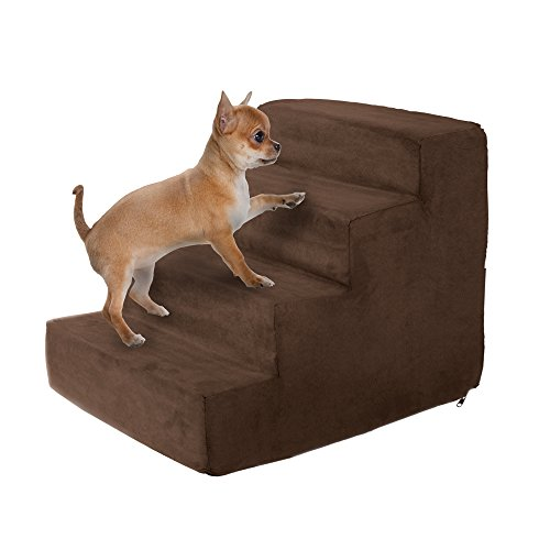 PETMAKER High Density Foam Pet Stairs Collection -...