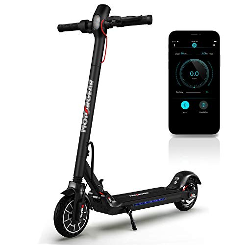 Folding Electric Scooter for Adults - 300W Brushless Motor Foldable Commuter Scooter...