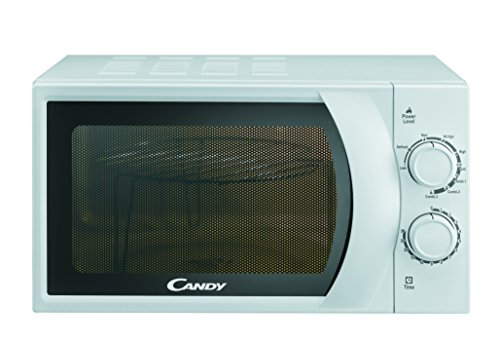 CANDY CMG 2071 M - Microonde con grill 20L 700W, Potenza Grill: 900W, Bianco