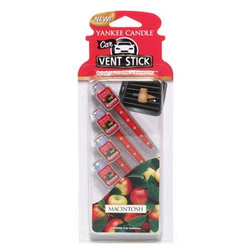 Yankee Candle 1194394 Car Vent Sticks MacIntosh Scent