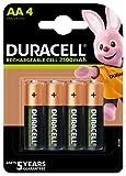 Duracell Piles Rechargeables AA 2500 mAh idéales pour les manettes Xbox,...