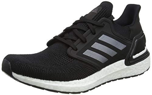 adidas Ultraboost 20, Zapatillas para Correr Hombre, Core Black/Night Met./FTWR White, 43 1/3 EU