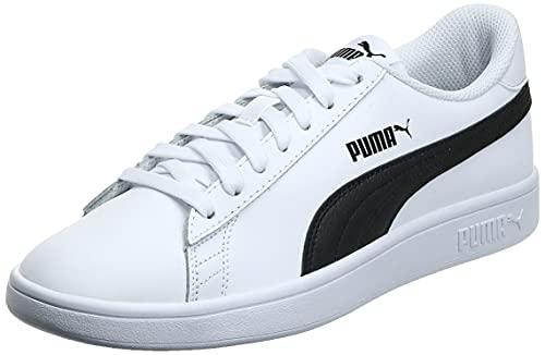 PUMA Smash V2L, Zapatillas Hombre, White Black, 43 EU