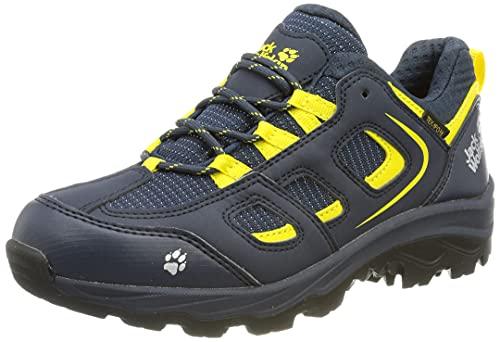 Jack Wolfskin Vojo Texapore Low Walking-Schuh, Blue/Yellow, 36 EU