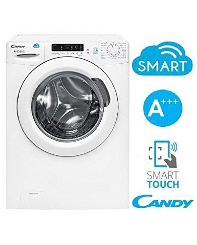 Candy CS 1272D3/1-01 lavatrice Libera installazione Caricamento frontale Bianco 7 kg 1200 Giri/min...