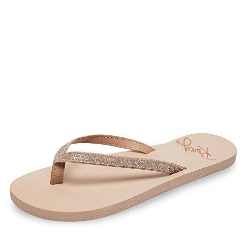 Roxy Napili II, Zapatos de Playa y Piscina Mujer, Beige (Beige/(Ta1 Tan 1) Ta1), 42 EU