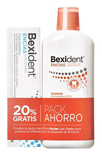 Bexident Encías Pack Colutorio Clorhexidina 500ml+Pasta 75ml
