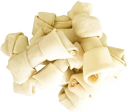 PET MAGASIN - Huesos de Cuero Crudo Natural – Delicias masticables...