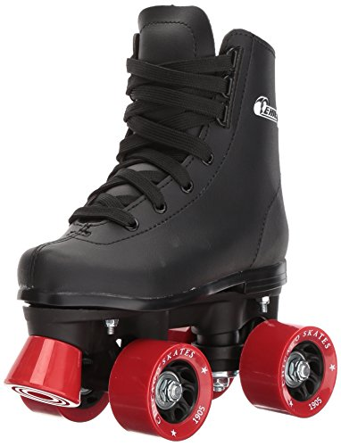 Chicago Boys Classic Roller Skates Black Rink Quad Skates - Size Youth 2