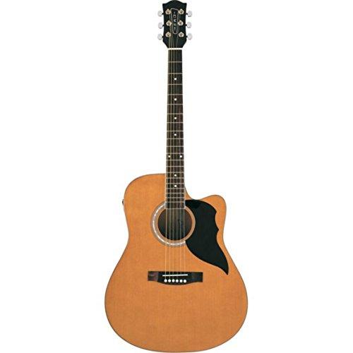 Chitarra acustica elettrificata Tavola in abete laminato, fasce e fondo in linden Adatto a chi fa il primo passo nel mondo della chitarra acustica Dotata di preamplificatore VAN3L EQ