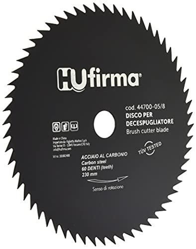 HUfirma 44700-05/8 Disco per decespugliatore, 60 denti, 230 x 25.4 mm