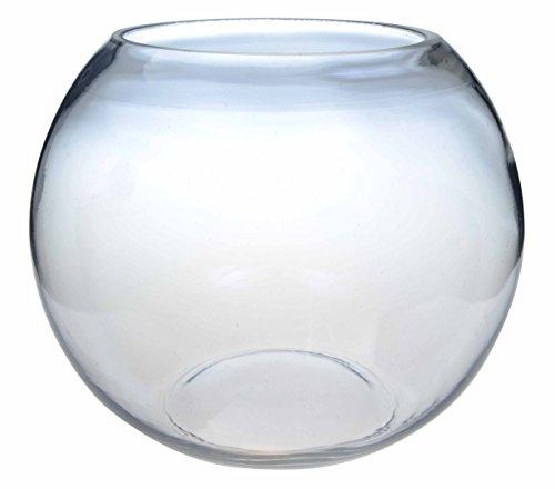Hochzeits-Schmuckvase, Fischglas, 15 cm