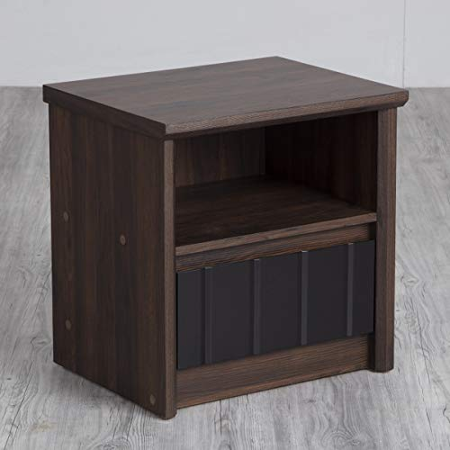 Home Centre Lewis Night Stand with Single Drawer