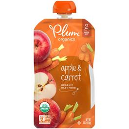 Plum Organics Baby Second Blends, 4.0 Ounce Pouches (Pack of 12)