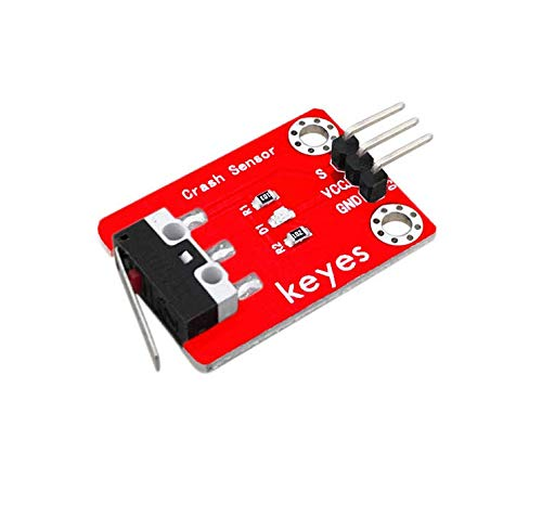 Collision Sensor is specialized for Arduino. Its connection port is compatible for Arduino sensor shield. The sensor can be used as a limit switch in the 3D printer. The sensor can be used as a limit switch in the 3D printer. The sensor comes with tw...
